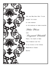 Free printable wedding invitations templates for Do it yourself wedding invitations templates