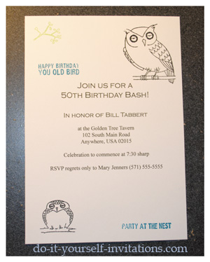 50th Birthday Party Invitation Wording Image Search Results