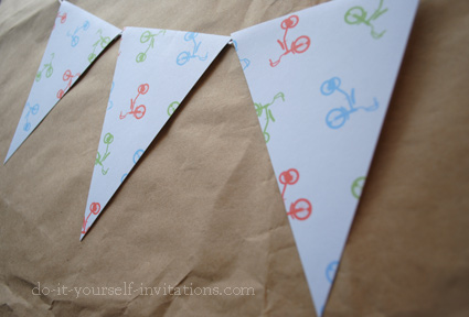 printable 2nd birthday bunting