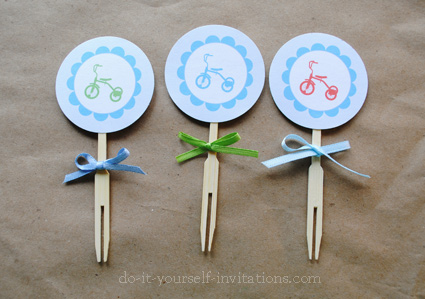 printable 2nd birthday invitations cupcake toppers