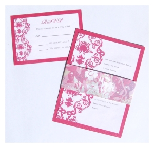 wedding invitations kits cheap