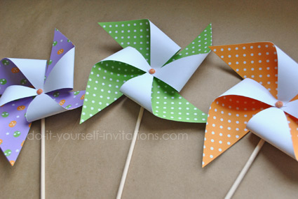 printable pinwheels halloween party decorations