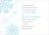 printable snowflake wedding invitations