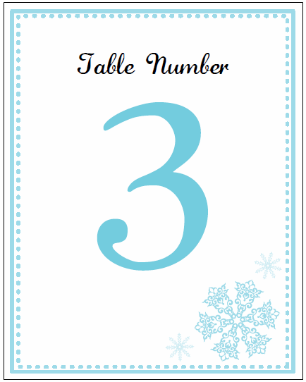 Printable Snowflake Wedding Invitation Kits