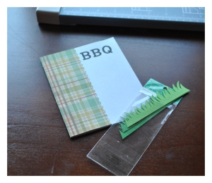 handmade barbecue invitations