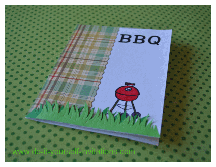 diy barbecue invitations