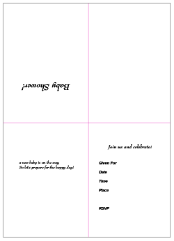 invitation printable templates - Free Printable Invitation Templates
