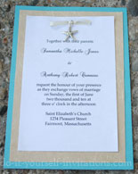 diy beach wedding invitations, Wedding invitations