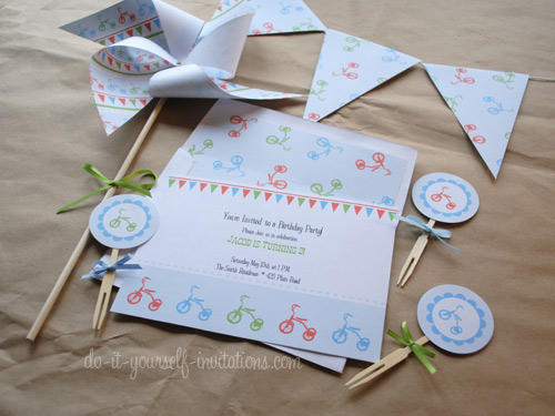 Printable DIY Invitation Templates And Party Kits