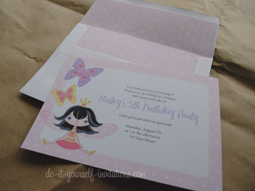 Printable Birthday Invitations DIY Templates And Party Kits
