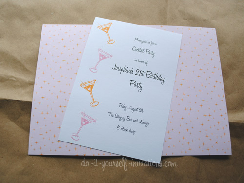 Printable Birthday Invitations DIY Templates And Party Kits - Simple homemade birthday invitation