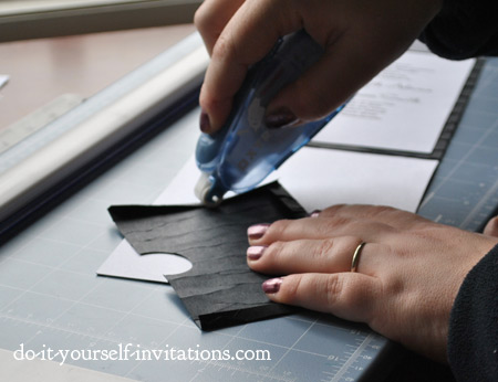 make pocket invitations