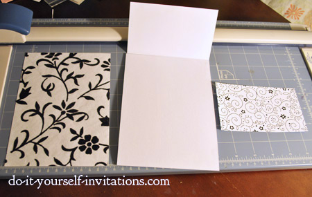 create handmade wedding invitations