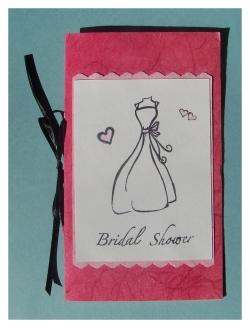 Handmade bridal shower invitations solutioingenieria Images