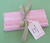 DIY bridal shower candy bar invitations