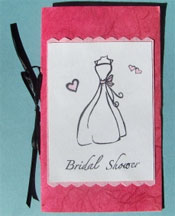 diy handmade bridal shower invitations
