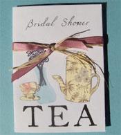 Bridal shower invitation ideas bridal shower tea invitations filmwisefo