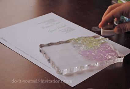 DIY Butterfly Wedding Invitations