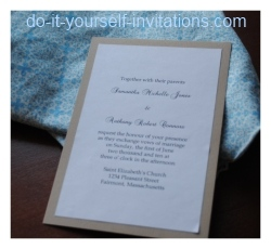 make unique pocket wedding invitations
