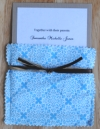 cloth pocket wedding invitations