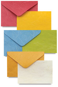 make invitations with colorful blank cards