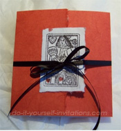 vegas destination wedding invitations
