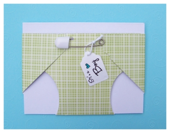 Diy Baby Shower Diaper Invitations Make Diaper Baby Shower