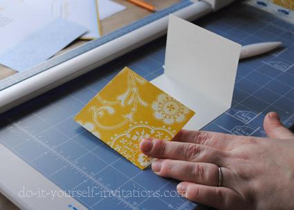 Creative DIY wedding invitations cheap