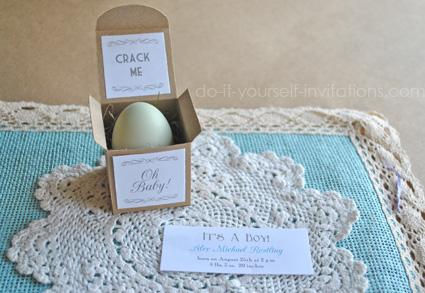 baby gender reveal eggs