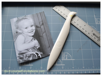 making photo invitations