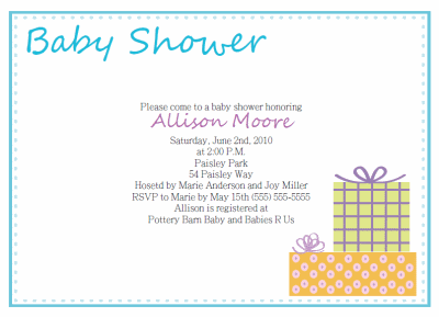 Baby shower invite layout roho4senses baby shower invite layout filmwisefo