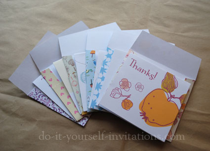Free printable thank you cards print your own diy thank you notes with matching envelopes solutioingenieria Images
