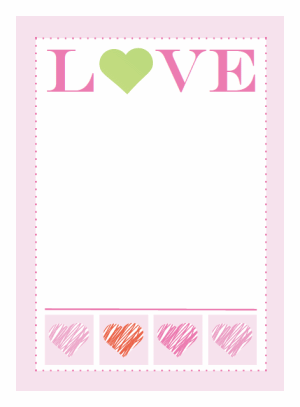 printable valentines invitations or greeting cards