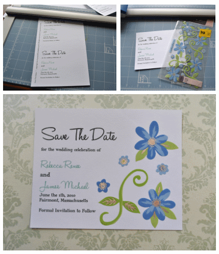 diy save the date