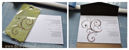 make cheap affordable wedding invitations