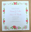 handerchief wedding invitation