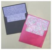 Diy wedding invitation envelopes customize and personalize make wedding invitation envelopes solutioingenieria Choice Image