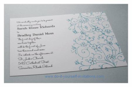 rubber stamp wedding invitations