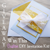 invitation kit giveaway