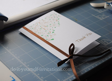 printable thank you card template