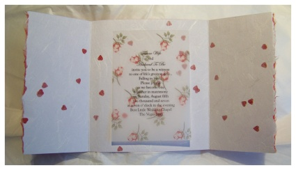 make Las Vegas wedding invitations
