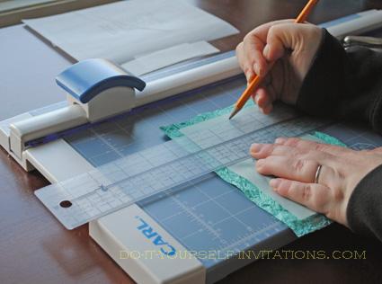 diy handmade paper wedding invitations