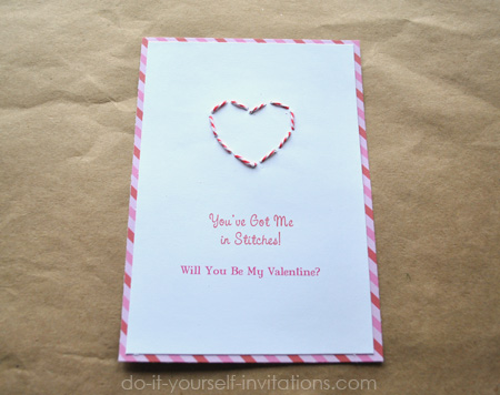 Make valentines day party invitations hand cut diy valentines solutioingenieria Images