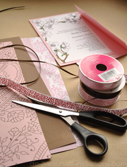 diy make your own invitations