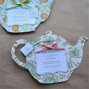 Tea Party Invitations Template