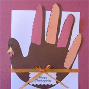 kids craft Thanksgiving Invitations