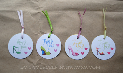 Printable Party Invitations Templates - High Heel ...