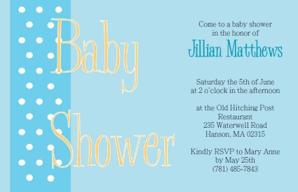 Free Printable Baby Shower Invitations  Baby Shower Word Template