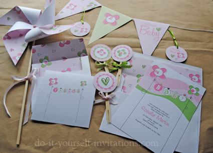 free baby shower invitation templates, Baby shower invitations
