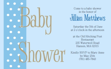 Free Baby Shower Invitation Templates For Word - Home Design